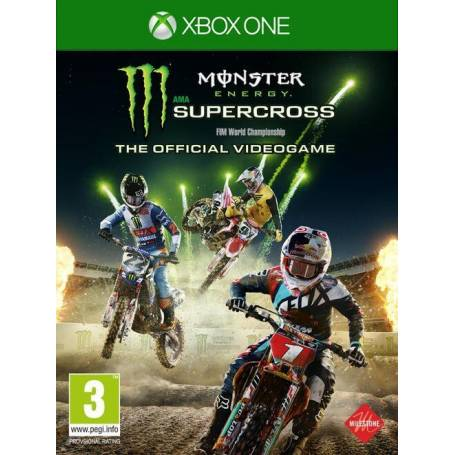 Monster Energy Supercross XBOX ONE OFFLINE