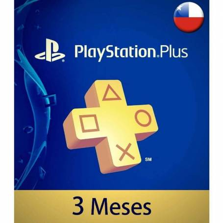 Playstation Plus 3 Meses (CHILE)