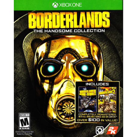 Borderlands The Handsome Collection XBOX