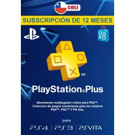 Playstation Plus 12 Meses (USA y CHILE)
