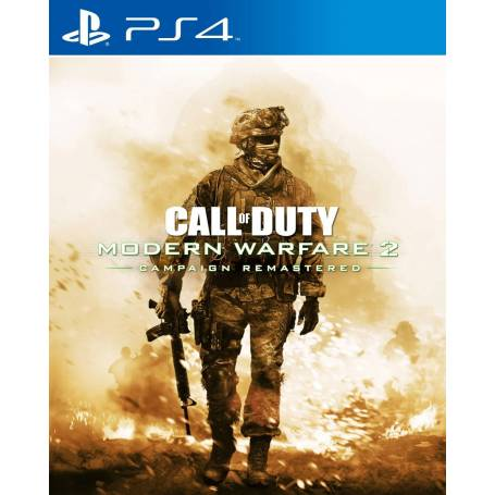 Call of Duty Modern Warfare 2 Campaign Remastered ESPAÑOL PS4