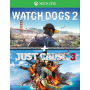 Watch Dogs 2 + Just Cause 3 XBOX OFF
