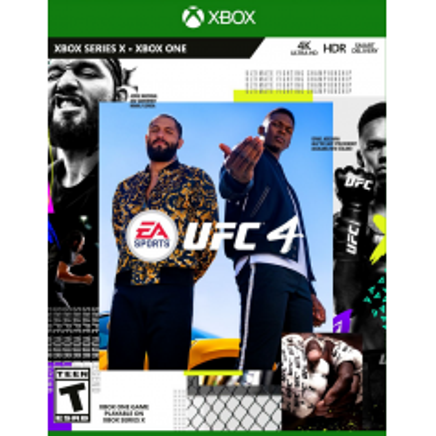 UFC 4 Standard Edition XBOX OFF