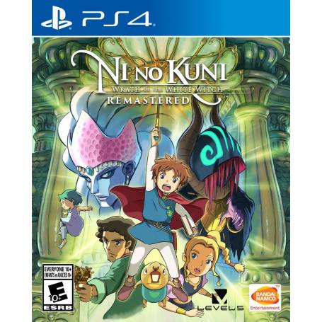 Ni no Kuni: Wrath of the White Witch™ Remastered PS4