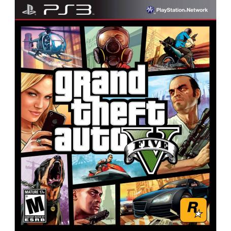 GTA V PS3 Grand Theft Auto Vfd