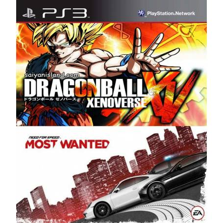 Dragon Ball Xenoverse + NFS Most Wanted