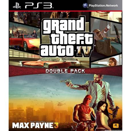 Grand Theft Auto IV + Max Payne 3