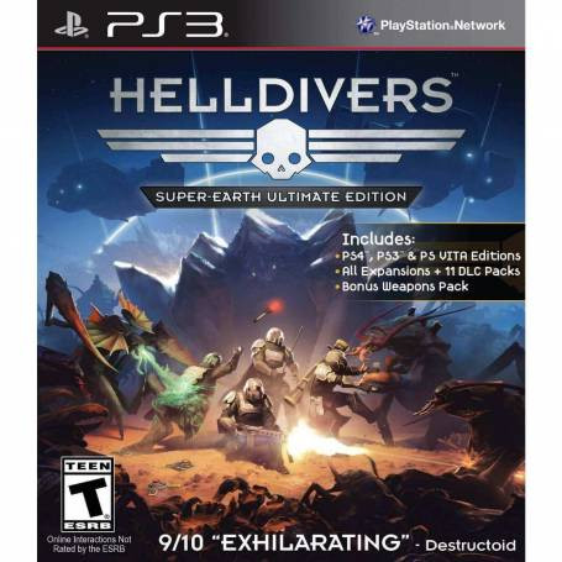 HELLDIVERS Edición definitiva de Supertierra