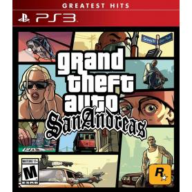 GTA Grand Theft Auto: San Andreas